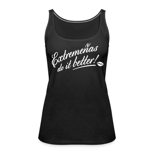 girls - Camiseta de tirantes premium mujer