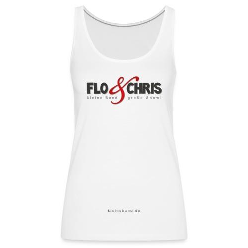 flo und chris logo - Frauen Premium Tank Top