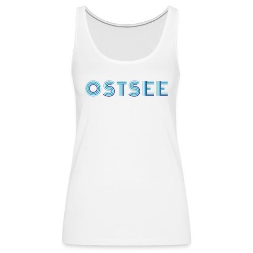 Ostsee Retro - Frauen Premium Tank Top