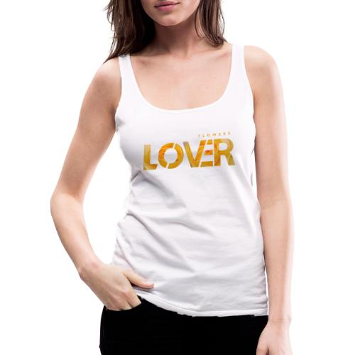 Flowers Lovers - Yellow - Canotta premium da donna