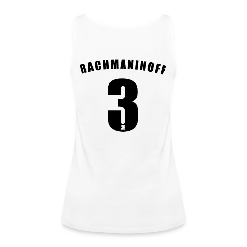 Rachmaninoff 3 Trikot - Women's Premium Tank Top