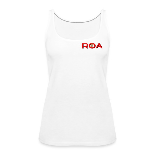 Logo-transparent - Frauen Premium Tank Top