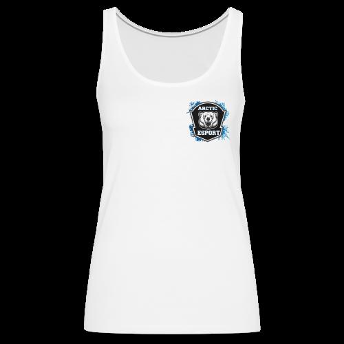 Arctic E-sports logo - Women's Premium Tank Top