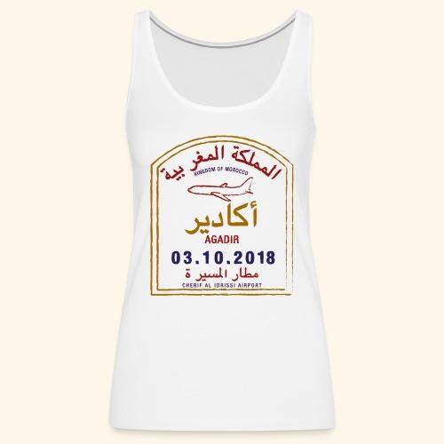Agadir - Débardeur Premium Femme