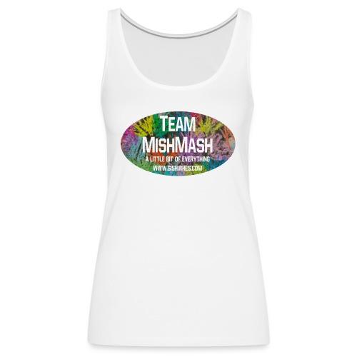Team MishMash Logo - Women's Premium Tank Top