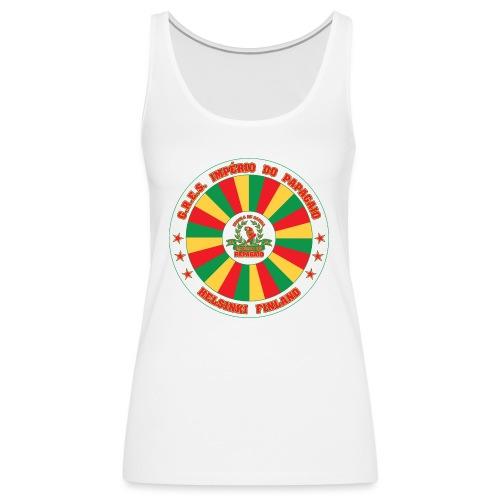 Papagaio drum logo - Naisten premium hihaton toppi