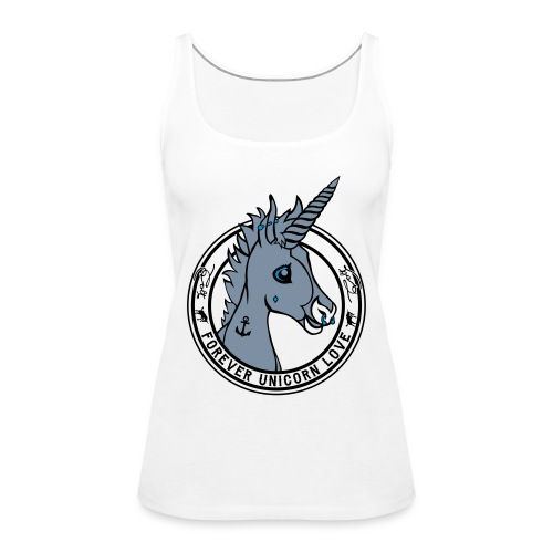 Colt - Unicorn Love (onwhite) - Frauen Premium Tank Top