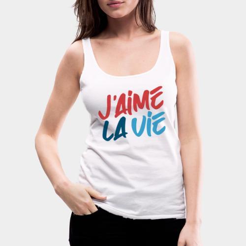 Ich liebe das Leben - Débardeur Premium Femme