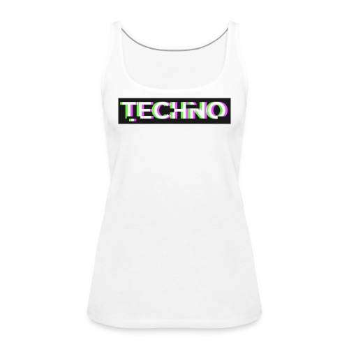 Techno turnbeutel - Frauen Premium Tank Top