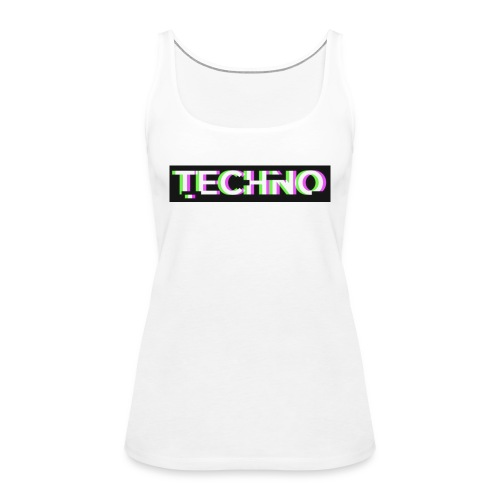 Techno turnbeutel - Frauen Premium Tank Top