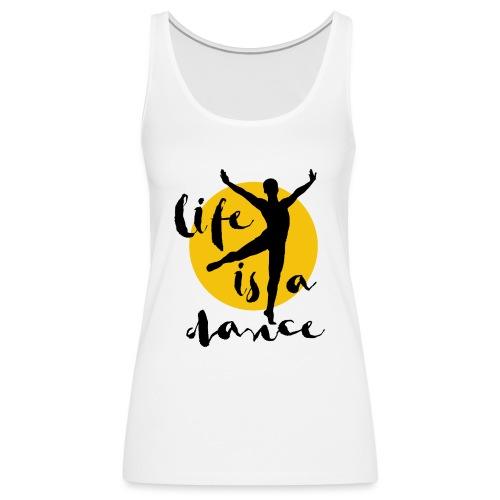 Ballett Tänzer - Frauen Premium Tank Top