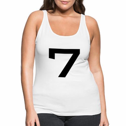 Numéro 7 - Débardeur Premium Femme