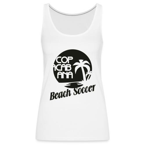 Copacabana Beach Soccer - Frauen Premium Tank Top