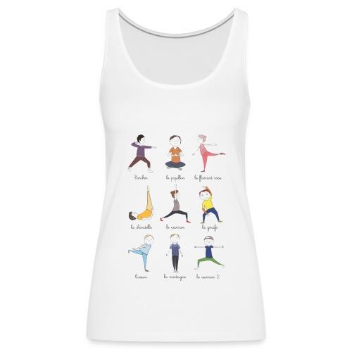 Little yogis - Débardeur Premium Femme