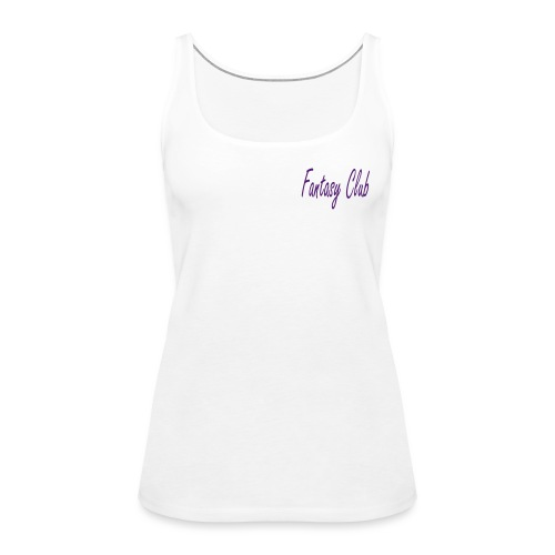 Fantasy Club Logo - Women's Premium Tank Top