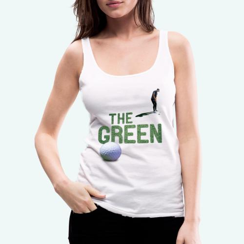 Golf - The Green - Frauen Premium Tank Top