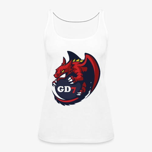 GD7 LOGO - Frauen Premium Tank Top