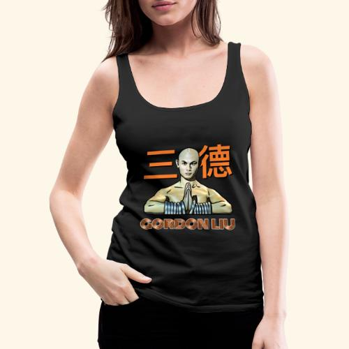 Gordon Liu - San Te Monk (Official) 6 dots - Vrouwen Premium tank top