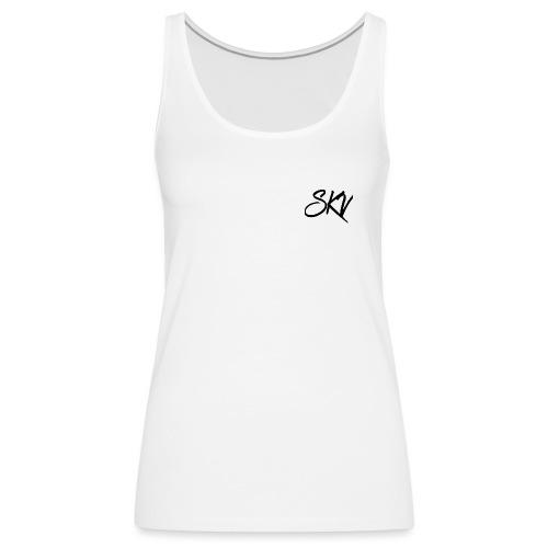Skv Black Logo - Camiseta de tirantes premium mujer