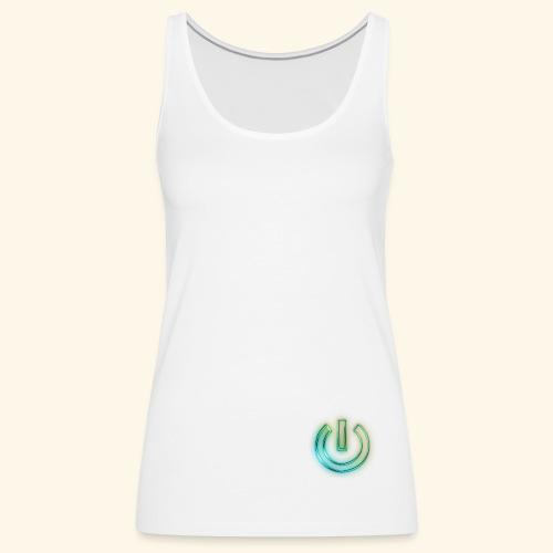 JJAMovies Logo Power - Women's Premium Tank Top