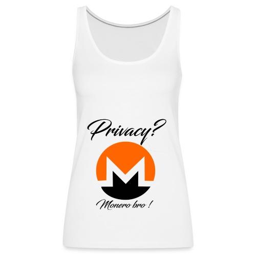 Moneroooo - Débardeur Premium Femme