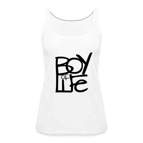 Boy of Life Logo black - Frauen Premium Tank Top