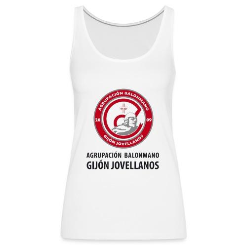 Escudo vertical básico - Camiseta de tirantes premium mujer
