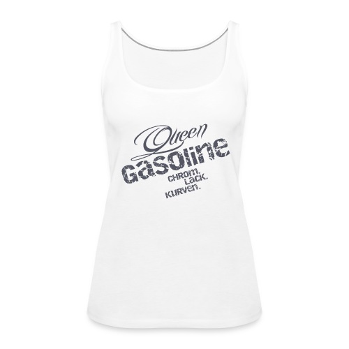 Queen Gasoline Logo - Frauen Premium Tank Top