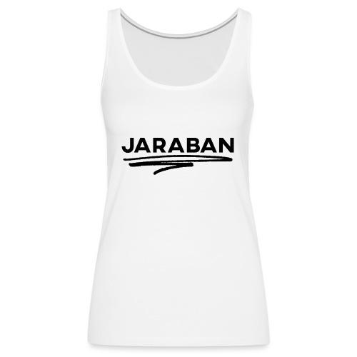 Scribble (Black) - Women's Premium Tank Top