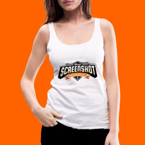Screenshot-Podcast Logo - Frauen Premium Tank Top