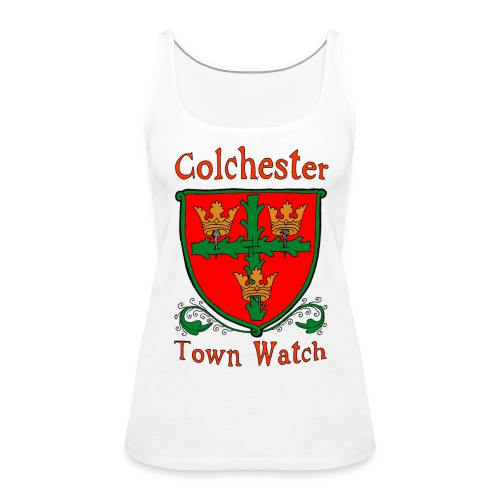 Colchester Town Watch 2 - Women's Premium Tank Top