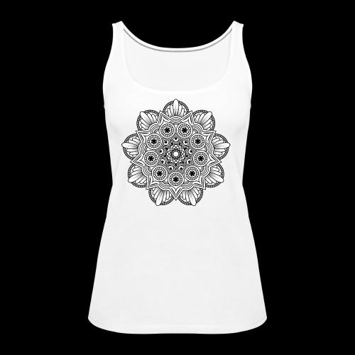 Mandala - Canotta premium da donna