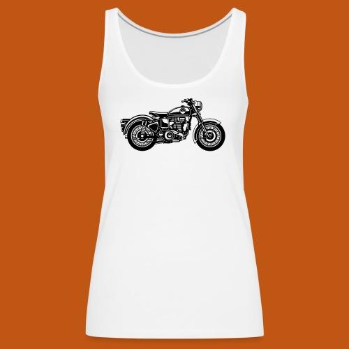 Motorrad / Classic Motorcycle 04_schwarz - Frauen Premium Tank Top