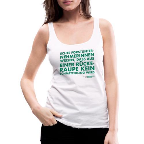 Forstunternehmerinnen | Schmetterling - Frauen Premium Tank Top