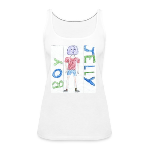 Awesome drawing made by: 'Anonymous' - Women's Premium Tank Top