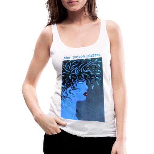 Medusa Blue - Women's Premium Tank Top