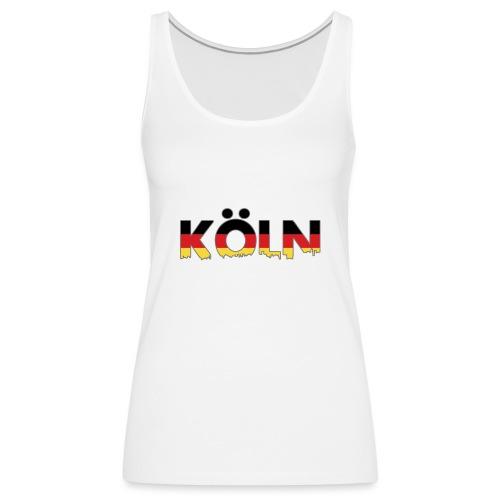 Köln Typografie - Frauen Premium Tank Top