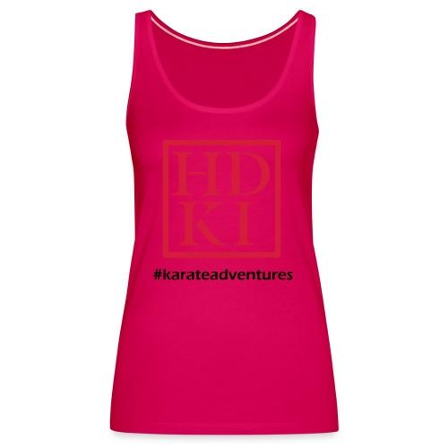 HDKI karateadventures - Women's Premium Tank Top