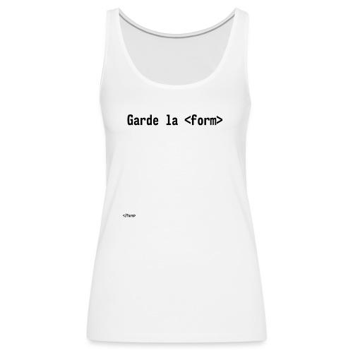 Design_dev_blague - Débardeur Premium Femme