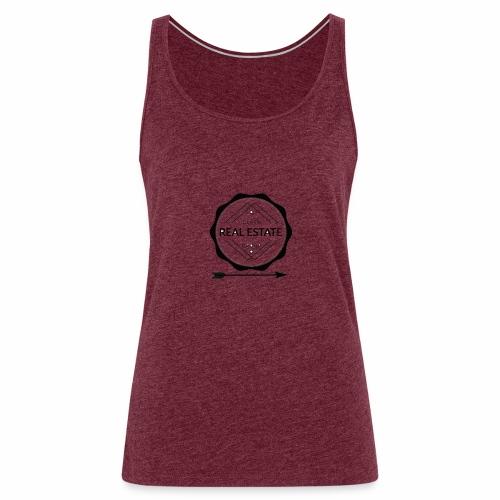 REAL ESTATE. - Camiseta de tirantes premium mujer
