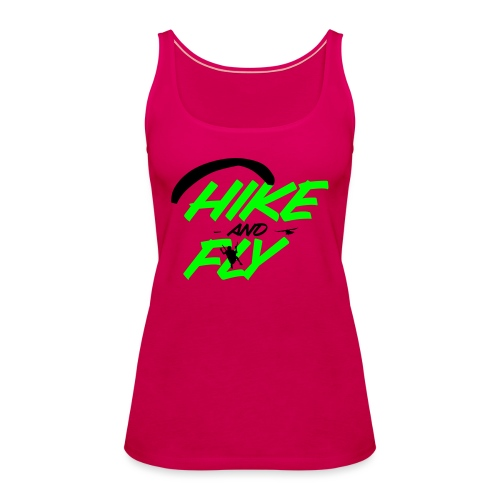Hike and Fly Paragliding - Frauen Premium Tank Top