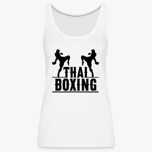 Muay Thai - Camiseta de tirantes premium mujer