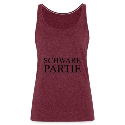 schwarePartie png - Frauen Premium Tank Top