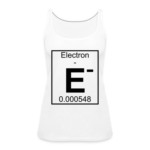 E (electron) - pfll - Women's Premium Tank Top