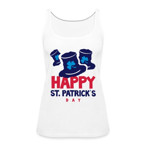 Happy St. Patrick's Bay - Women's Premium Tank Top