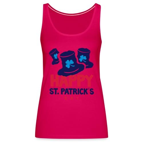Happy St. Patrick's Bay - Women's Premium Tank Top