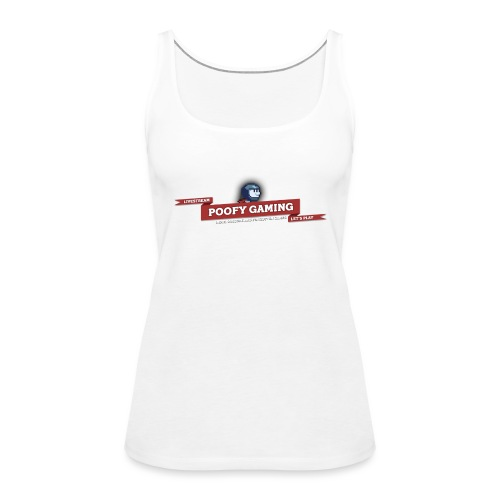 Poofy Gaming - Full Text - Vrouwen Premium tank top