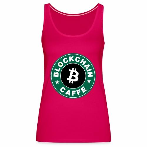 BlockChain Caffè Logo - Canotta premium da donna