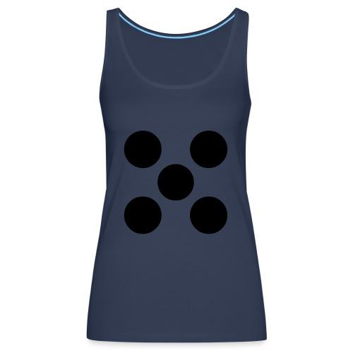 Dado - Camiseta de tirantes premium mujer