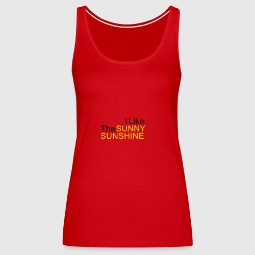 Sunny Sunshine... - Vrouwen Premium tank top